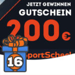 Adventskalender Türchen 16: 200€ Gutschein von SportScheck gewinnen