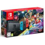 Nintendo Switch Neon-Rot/Neon-Blau + Mario Kart 8 für 299€ (statt 349€)