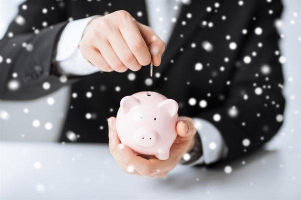Winterliches Sparen