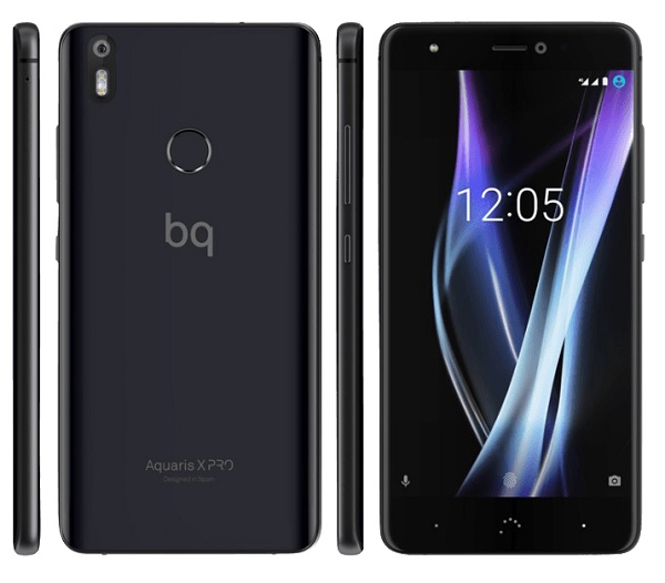 5 2 smartphone bq aquaris x pro 32gb dual sim f r 181 19. Black Bedroom Furniture Sets. Home Design Ideas