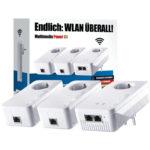 Netzwerk Artikel bei MediaMarkt - z.B. devolo dLAN 1200+ Multimedia Power Kit für 149€ (statt 185€)