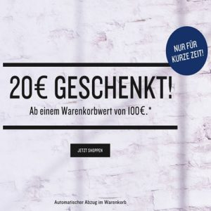 20€ Rabattaktion Tom Tailor