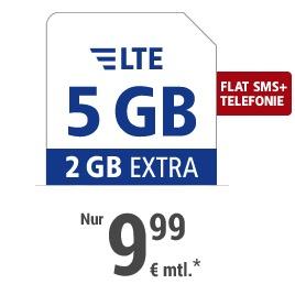 GMX 5GB Tarif