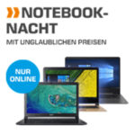Saturn Notebook-Nacht, z.B. Asus mit i5, 8GB RAM, 256GB SSD für 666€ (statt 899€)