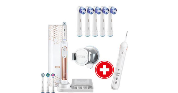elektrische bluetooth zahnb rste oral b genius 9000s f r 119 statt 144. Black Bedroom Furniture Sets. Home Design Ideas