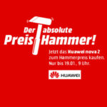 Media Markt Preishammer: HUAWEI nova 2 64 GB für 259€