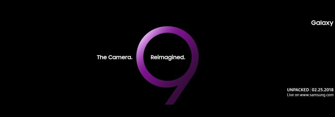 Samsung Galay S9 Unpacked