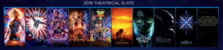 Disney Plus Filme 2019
