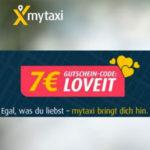 7€ mytaxi Gutschein (Neu- und Bestandskunden)