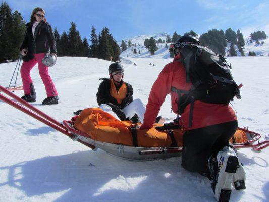 Winterurlaub Unfall