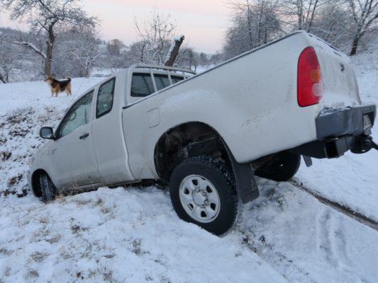 auto-unfall Winter