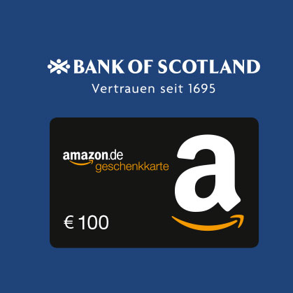 bank of scotland 100 bestchoice gutschein f r. Black Bedroom Furniture Sets. Home Design Ideas