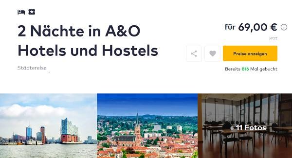3 Tage Zu Zweit In Vielen A O Hotels Z B Venedig Inkl Fruhstuck