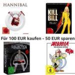 Amazon Filme / Serien für 100€ kaufen und 50€ sparen (DVD/Bluray)