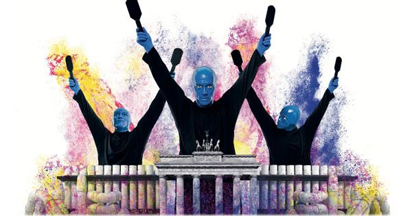 Blue Man Group In Berlin In Der Preiskategorie 2 Fur 34 90