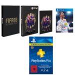 Media Markt Gönn Dir Dienstag - z.B. 12 Monate Playstation Plus + FIFA 18 (Steelbook Edition) (PS4) für 67€ (statt 95€), uvm.
