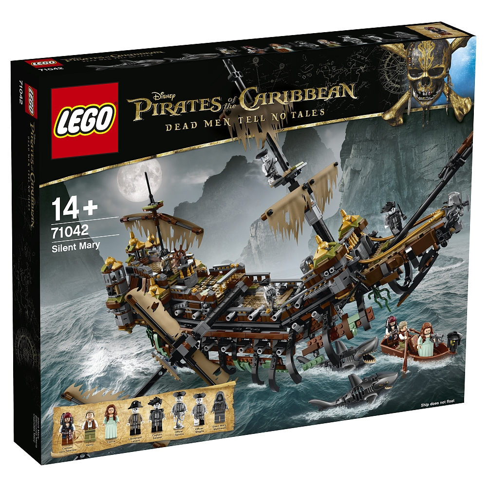 "LEGO Disney Pirates of the Caribbean Piratenschiff ""Silent"