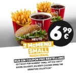 2x McMenü Small nach Wahl für 6,99€ - McDonald's Ostercountdown Tag 28