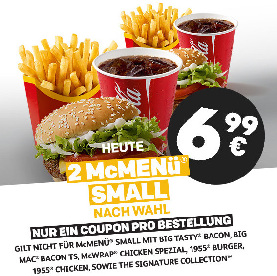 2x Mcmenü Small Für 699 Mcdonalds Ostercountdown Tag 32