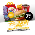 McMenü Small & Happy Meal + Milka Schmunzelhase für 7,50€ - McDonald's Ostercountdown - Tag 31