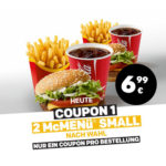 2x McMenü Small nach Wahl für 6,99€ - McDonald's Ostercountdown Tag 24
