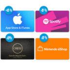 PayPal Osteraktion iTunes Gutschein Spotify Rabatt