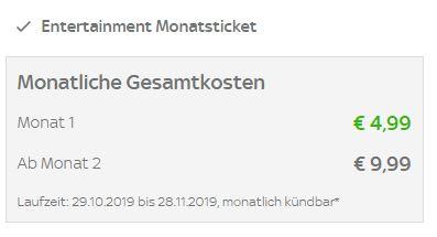Kosten Sky Ticket Angebot