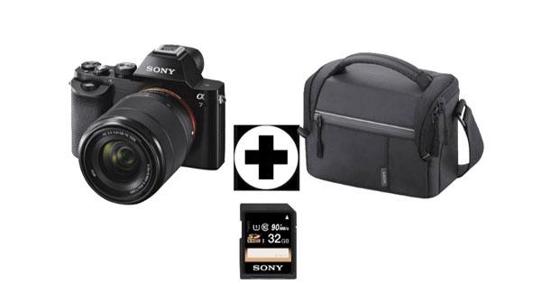 Sony Alpha 7 Kit 28 70 Mm Systemkamera Tasche Sd Karte Ab 777