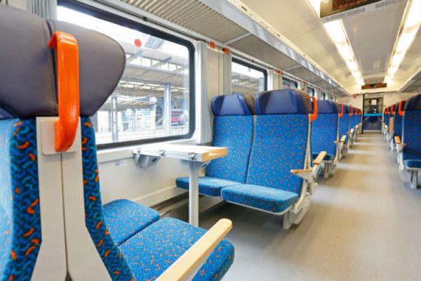 Tschechischer Zug Interior