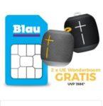 o2/Blau: Alles-Flat + 3GB LTE für mtl. 9,99€ + GRATIS: 2x UE Wonderboom Speaker (Wert: 124€) - oder ohne Speaker für 8,32€/Monat