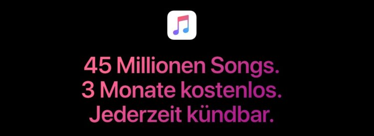 Apple Music kostenlos