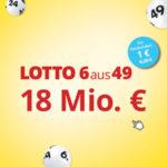 6 Felder Lotto 6aus49 für 1€ (statt 6,20€) - für Lottohelden-Neukunden
