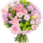 Blumenstrauß Du bist die Beste