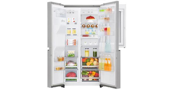 Lg Amerikanischer Kühlschrank Preis : Side by side lg gsx 960 neaz für 1.888 90u20ac statt 2.049u20ac 500