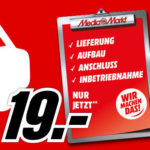 MediaMarkt Lieferluxus für 19€ für TV- oder Haushaltsgroßgeräte ab 499€