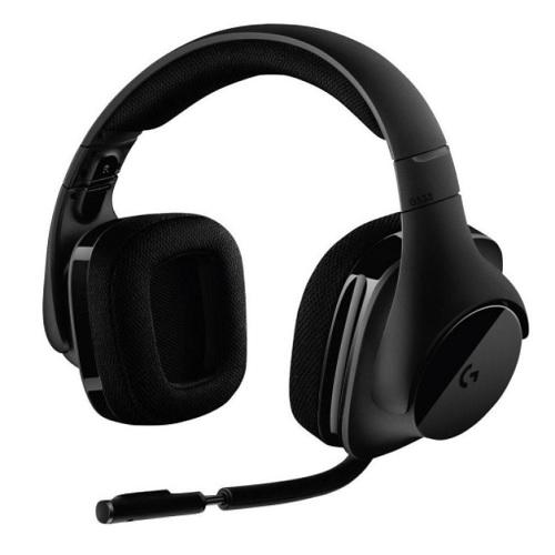 7 1 kabelloses gaming headset logitech g533 f r 76 49. Black Bedroom Furniture Sets. Home Design Ideas