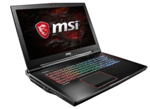 MSI GT73EVR Titan Pro Gaming Notebook