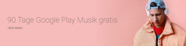 Musik auf Google Play kostenlos