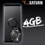 Samsung Galaxy S9 Plus + Samsung Galaxy Watch 46mm mit Vodafone Flat + 4GB für 31,99€/Monat *36€ Ersparnis + Tarif eff. gratis*