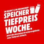 Speicher Tiefpreiswoche MediaMarkt