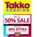 Takko: Sale mit bis zu 50% + 30% Extra-Rabatt auf reduzierte Ware