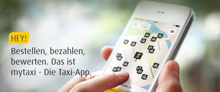 Taxi bestellen per App - mytaxi