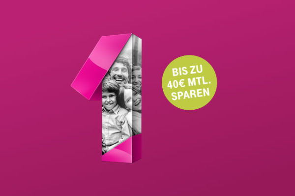 Telekom MagentaEins familycard