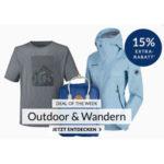 Engelhorn Sports: 15% Rabatt auf Outlet & Wandern