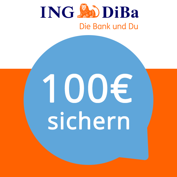 Girokonto Der Ing Diba Logo: *Genial* 💳 100€ Gutschrift Für Kostenloses ING-DiBa Girokonto