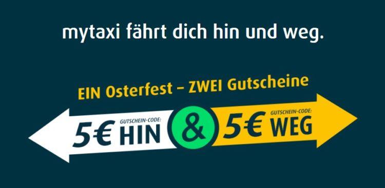 mytaxi Gutschein-Doppel_ HIN und WEG