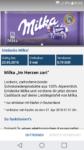 €2,10 Cashback für Milka Schokolade von Reebate erhalten