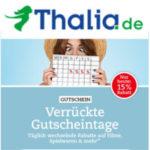 Gutscheintage bei Thalia.de: 15% Rabatt auf Filme, Spielwaren und mehr