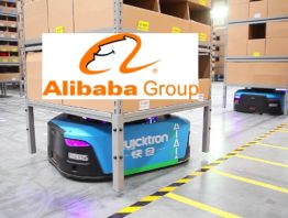 Alibaba Logistikzentrum