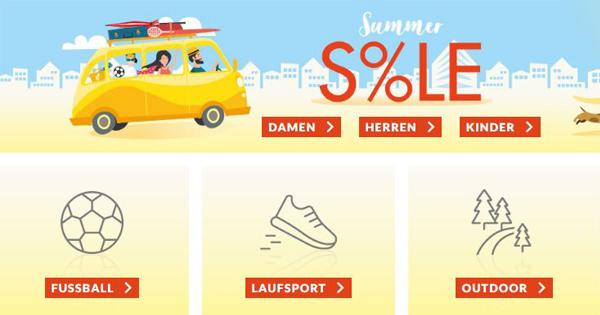 ️ Engelhorn: Sommersale auf Fashion und Sport mit bis zu